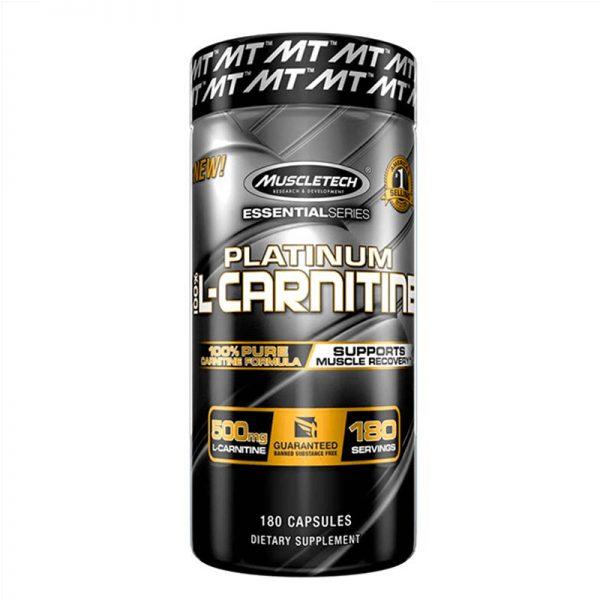 Muscletech Platinum 100% L-Carnitine 180 Capsules lowest price in pakistan