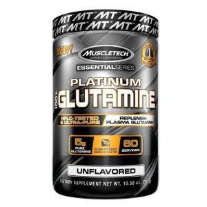 Muscletech Platinum 100% Glutamine 300 Grams lowest price in pakistan