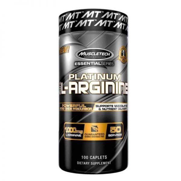 Muscletech platinum 100% L-arginine 100 tablets lowest price in pakistan