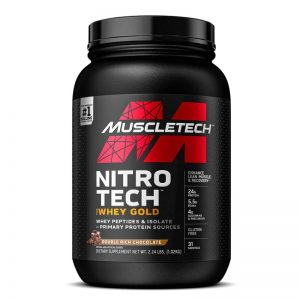muscletech nitrotech whey gold 2.24lb double rich chocolate lowest price in pakistan